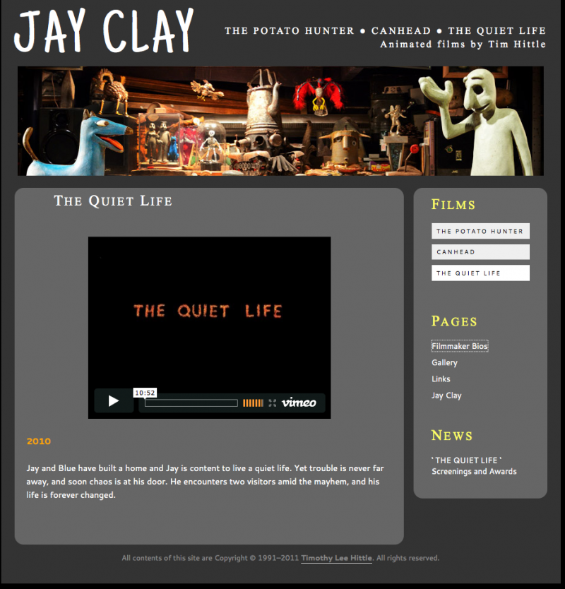 Jay Clay home page
